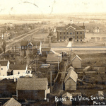 1910 Bird's Eye View of Milaca, MN