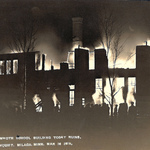 1915 MHS on Fire