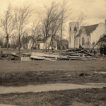 1915 MHS Rubble After Fire
