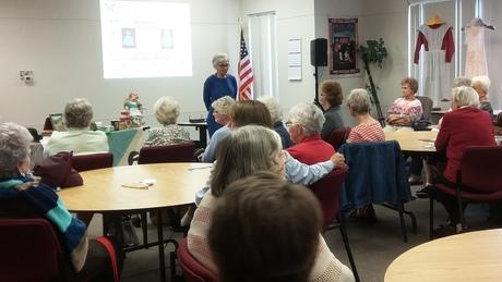 Leslie Anfinson introduces apron program