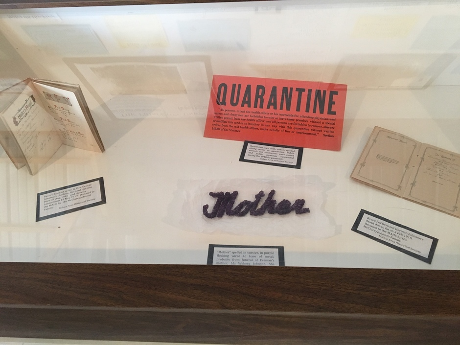 1918 Pandemic items