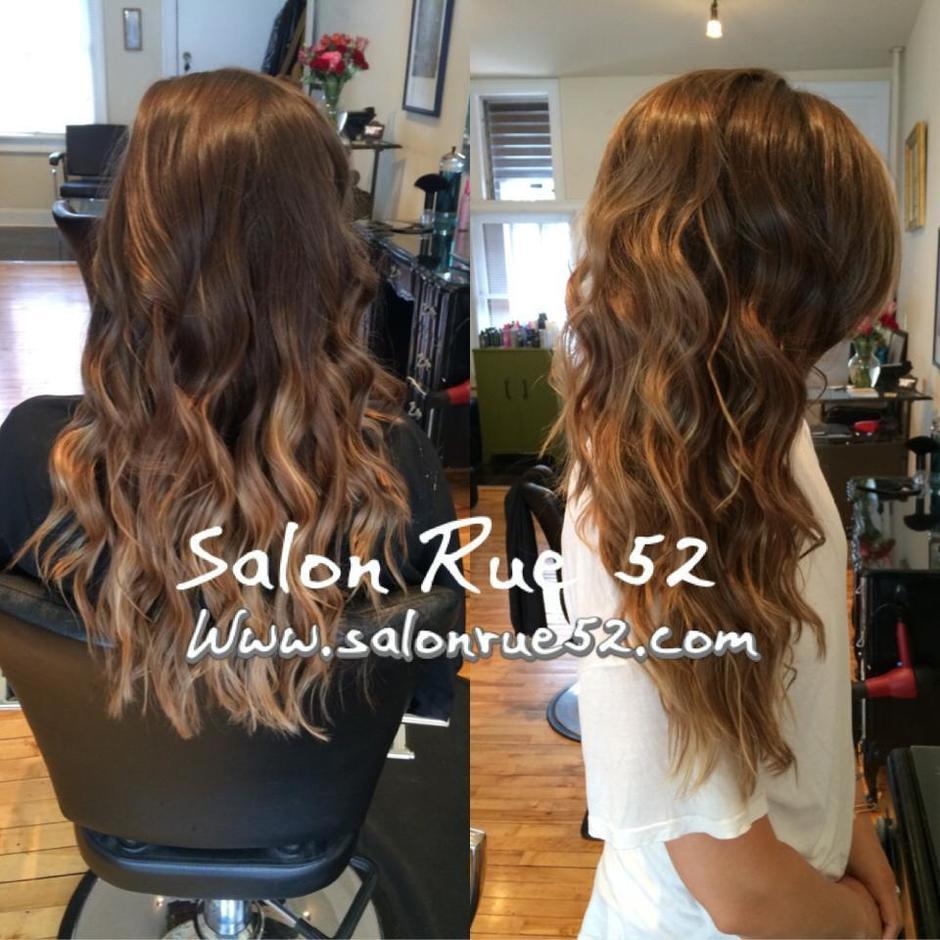 Ombre Hair Color Salon Rue 52