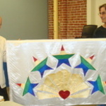STAR ALLIANCE FLAG with Founder Peter DuMont & Gary Graves, PhD