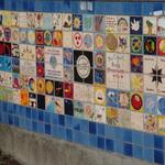 Berkeley Peace Wall with STAR ALLIANCE tiles