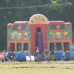 Bouncy house for the kids