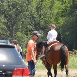 Horseback rides for the kids and adults too
