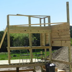 100 yd bay shooting stand