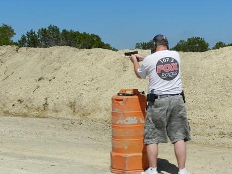 Shooter using tactical bay