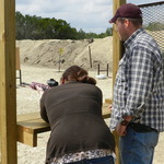 Even the ladies have fun at the range