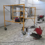 Musee d'Art Haitien - reconstruction phase one