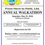From Here to Haiti Walkathon