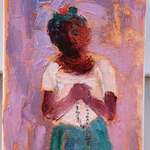 Eric_girault_the_prayer_2010_5x7_acrylic_on_canvas
