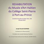 Musee d'Art Haitien Rehabilitation
