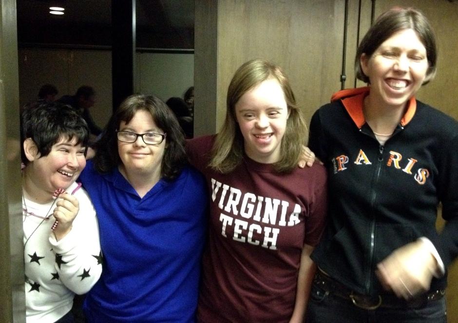 Virginia, Anne, Shelly, & Hannah
