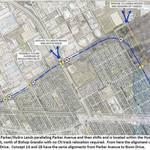 Option 1B for Rapid Transit