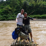 Great time on a Bamboo raft !!!!!!
