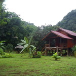 One of the Bungalows on the land