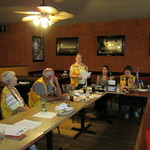 Chapter President, Also a Lion, Addresses Fort Pierce Lions Club