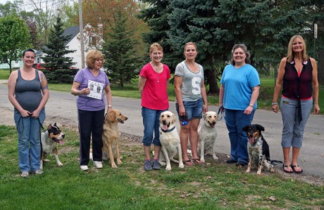 Lisa Freeman Owosso Michigan Dog Trainer Advanced Dog Training Class