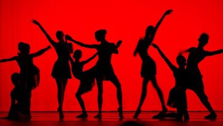Dancers Strike a Pose