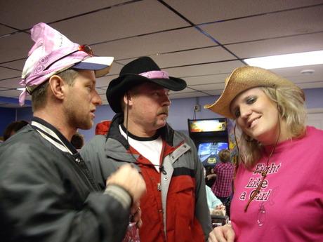 Tonya, Keith, and Todd