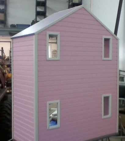 American Girl Scaled Doll House