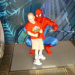 Ryan and Spidey