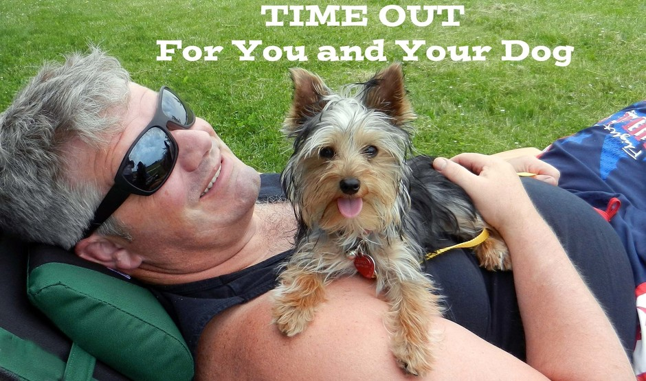 Time out for you and your dog