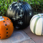 Quick and Easy No-Carve Pumpkin Ideas