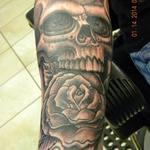 Skull_rose_1