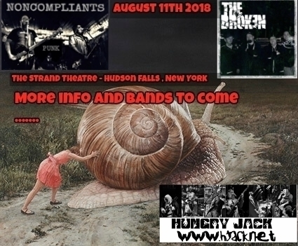 August 11th @ The Strand Theater Hudson Falls , New York