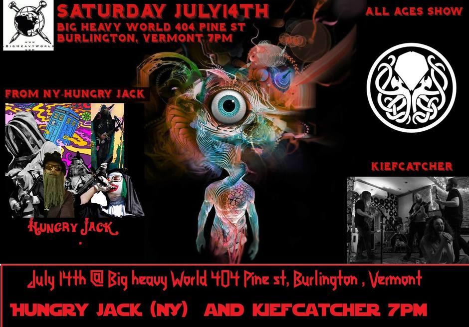 July 14th @ Big Heavy World