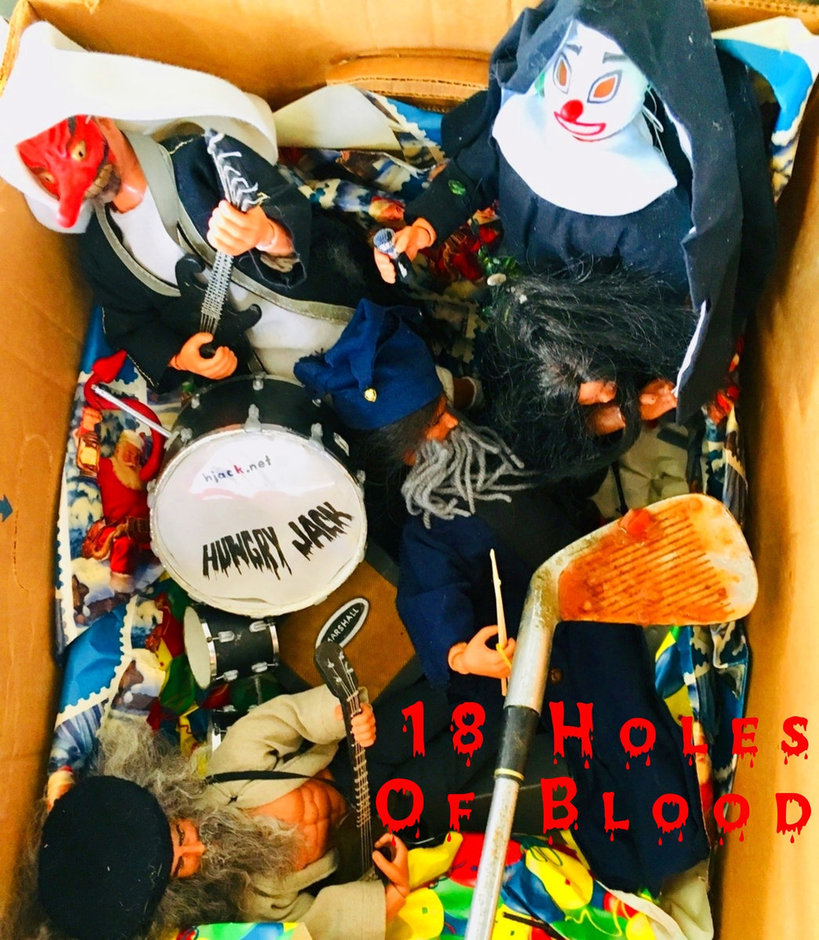 18 holes of blood ep from Hungry Jack