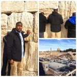 Pastor Charles O. Galbreath in Israel