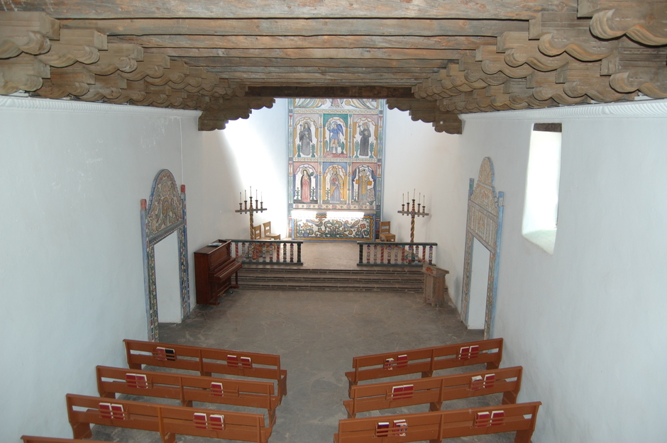 Chapel from top