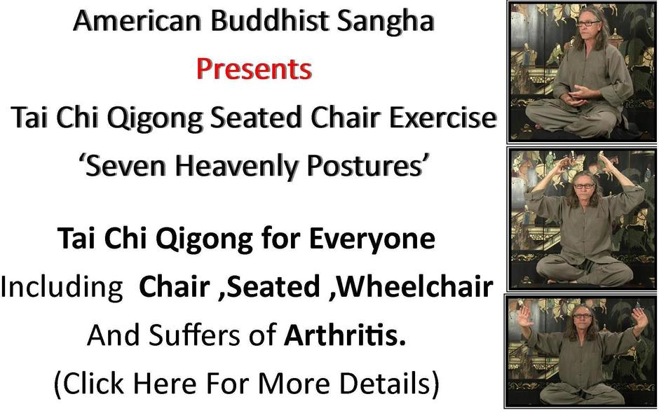 Tai Chi Qigon seated chair wheelchiar arthritis seven heavenly zen do