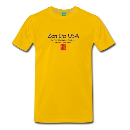 Zen Do USA Men's Premium T-Shirt Normal fitClassic cut t-shirt for men, 100% cotton (heather gray is 95% cotton/5% viscose. Heather Blue & Charcoal Gray are 80% cotton/20% polyester). Brand: Spreadshir
