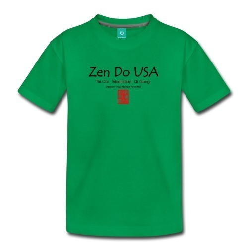Zen Do USA Kids' Premium T-Shirt Normal fitUnisex T-Shirt for kids, 100% cotton (heather gray is 95% cotton/5% viscose) Brand: Spreadshirt
