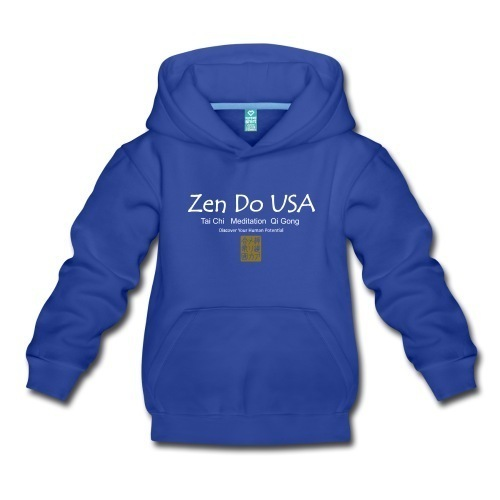 Zen Do USA Kids' Premium Hoodie Slimmer fitKids' Premium Hoodie | Brand: Spreadshirt | Fabric Content: 80% cotton / 20% polyeste