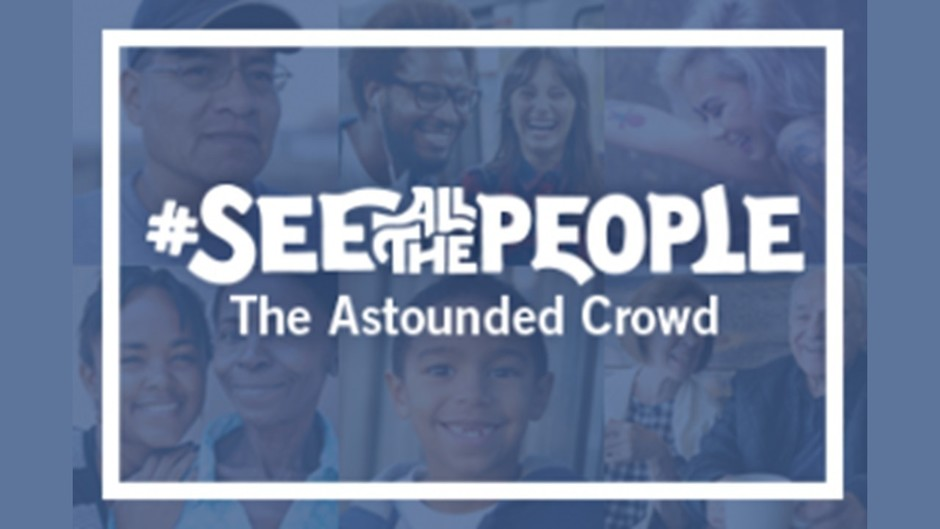 See All the People:  The Astounded Crowd