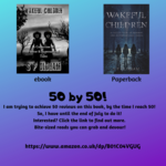 50 by 50 - My Goal!