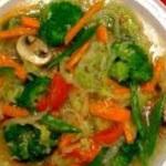 Chow mein or chop suey