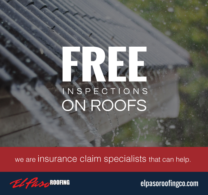 Free inspections on roofs flyer