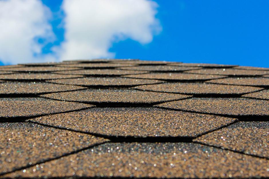 Closeup of roof