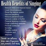 Singing Jazz is Good for Your Health