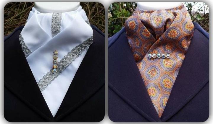 Pre Made English Stock Tie