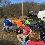 Trail Cleanup at Moonlight  1-21-17