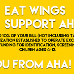 2016 Buffalo Wild Wings Fundraiser
