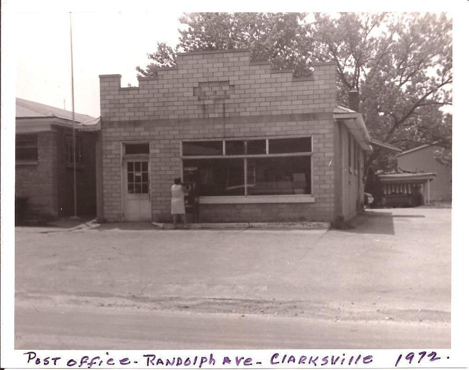 Clarksville Post Office 1972