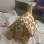 Gingerbread houses and Easter baskets!